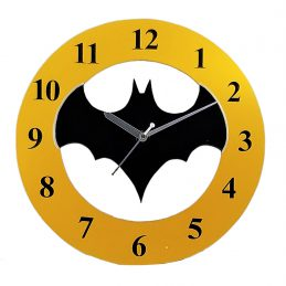 Cartoon clock Batman (AOEKWC011)