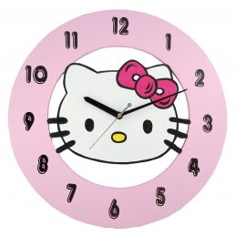 Cartoon clock Hello Kitty (AOEKWC016)